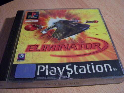 PlayStation 1 PS1 Spiel - Eliminator  Shooter  PSone PSX  USK 12  - komplett mit Anleitung  gebr.
