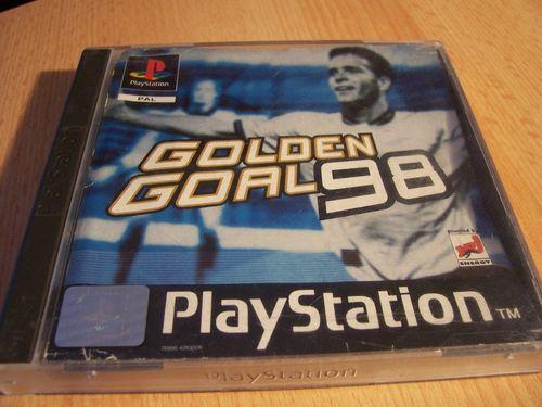 PlayStation 1 PS1 Spiel - Golden Goal 98 1998 FiFa WM PSone PSX USK 0 - komplett + Anleitung gebr.
