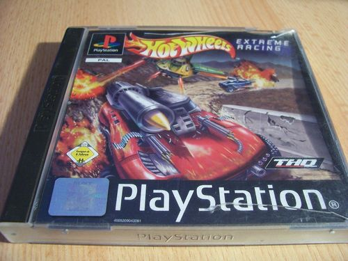 PlayStation 1 PS1 Spiel - Hot Wheels 2 Extreme Racing PSone PSX USK 6 - komplett mit Anleitung gebr.