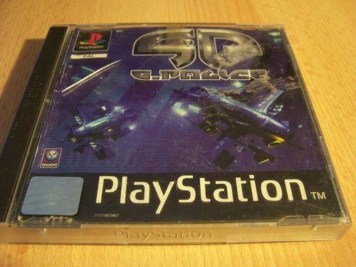 PlayStation 1 PS1 Spiel - GP G-Police 1  PSone PSX  USK 12  - 2CDs komplett mit Anleitung  gebr.