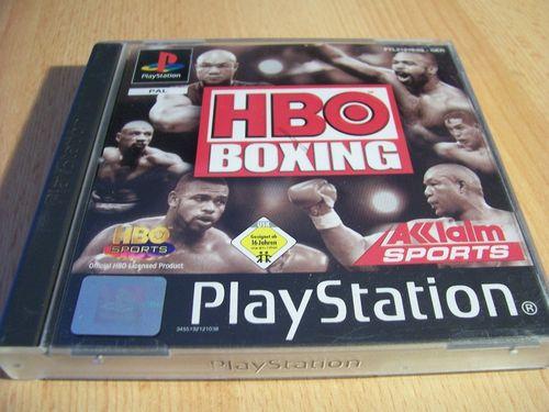PlayStation 1 PS1 Spiel - HBO Boxing - Boxen  PSone PSX  USK 16  - komplett mit Anleitung  gebr.