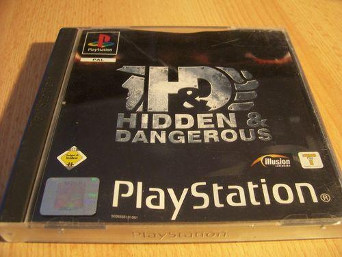 PlayStation 1 PS1 Spiel - H&D Hidden & Dangerous  PSone PSX  USK 16  - komplett mit Anleitung  gebr.