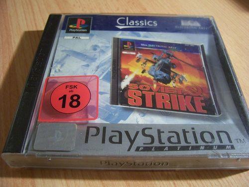 PlayStation 1 PS1 Spiel - Soviet Strike Platinum  PSone PSX  USK 18  - komplett mit Anleitung  gebr.