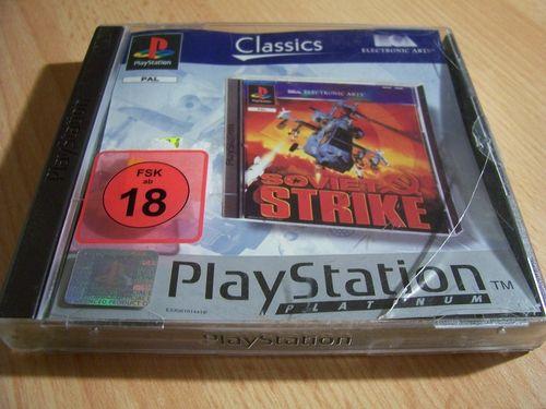 PlayStation 1 PS1 Spiel - Soviet Strike Platinum  PSone PSX  USK 18 - komplett ohne Anleitung  gebr.