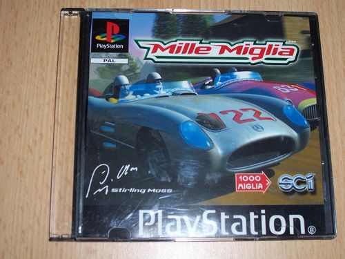 PlayStation 1 PS1 Spiel - Mille Miglia  PSone PSX  USK 0  - in Slimcase gebr.