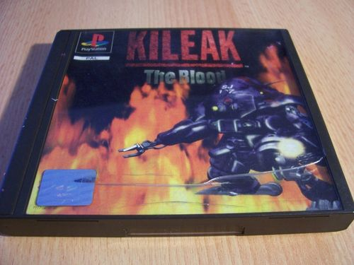 PlayStation 1 PS1 Spiel - Kileak - The Blood  PSone PSX  USK 12  - komplett mit Anleitung  gebr.