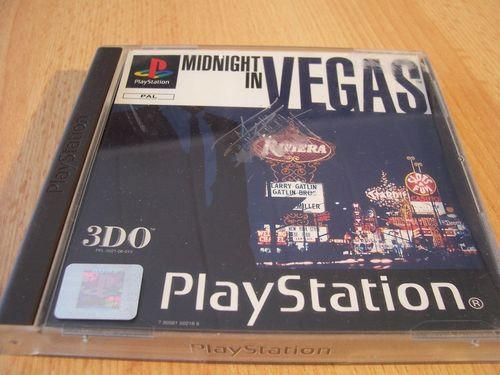 PlayStation 1 PS1 Spiel - Midnight in Vegas mit Poker PSone PSX USK 0 komplett + Anleitung gebr.