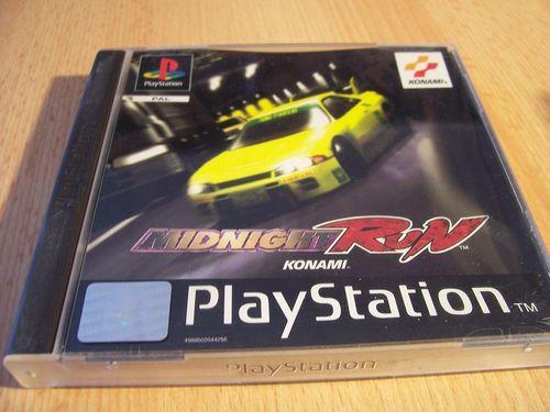 PlayStation 1 PS1 Spiel - Midnight Run  PSone PSX  USK 0  - komplett mit Anleitung  gebr.
