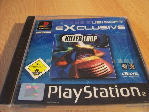PlayStation 1 PS1 Spiel - Killer Loop Ubi Soft exclusive PSone PSX USK 6  komplett + Anleitung gebr.