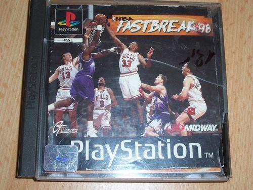 PlayStation 1 PS1 Spiel - NBA Fastbreak  '98 1998 98 PSone PSX USK 0 mit Anleitung  gebr.