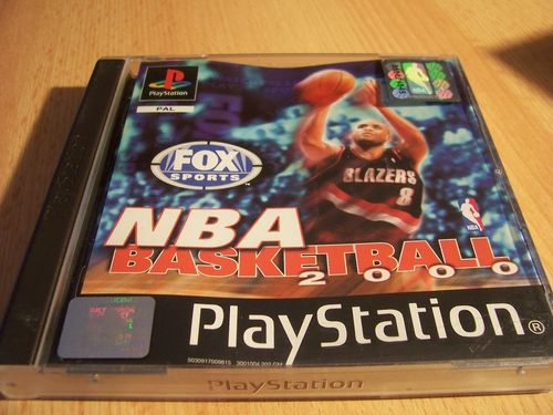 PlayStation 1 PS1 Spiel - NBA Basketball 2000 FOX Sports  PSone PSX USK 0 komplett + Anleitung gebr.