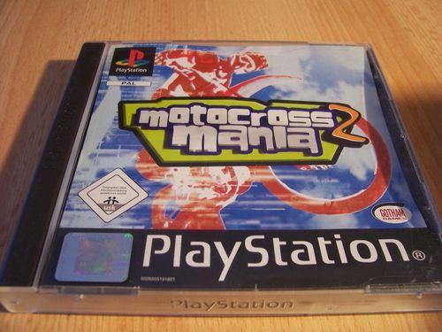 PlayStation 1 PS1 Spiel - Motocross Mania 2  PSone PSX  USK 0  - komplett mit Anleitung  gebr.