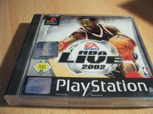 PlayStation 1 PS1 Spiel - NBA Live 2002  EA Sport  PSone PSX  USK 0  - komplett mit Anleitung  gebr.