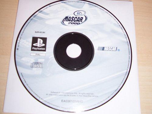 PlayStation 1 PS1 Spiel - Nascar 2000  EA Sports  PSone USK 0  - nur CD  gebr.