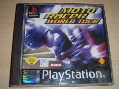 PlayStation 1 PS1 Spiel - Moto Racer 3 World Tour  PSone PSX  USK 0 - komplett ohne Anleitung  gebr.