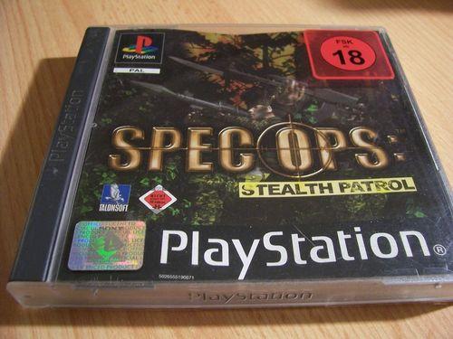 PlayStation 1 PS1 Spiel - Spec Ops Stealth Patrol PSone PSX  USK 18  - komplett mit Anleitung  gebr.