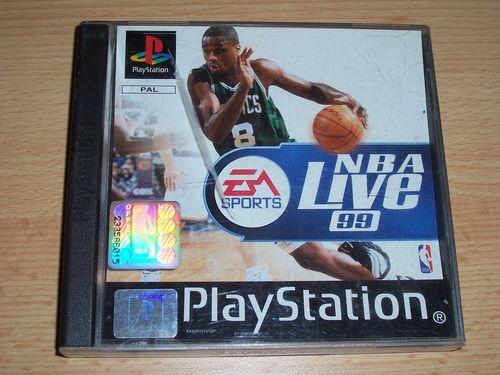 PlayStation 1 PS1 Spiel - NBA Live '99 1999 99 PSone PSX USK 0 - komplett ohne Anleitung gebr.