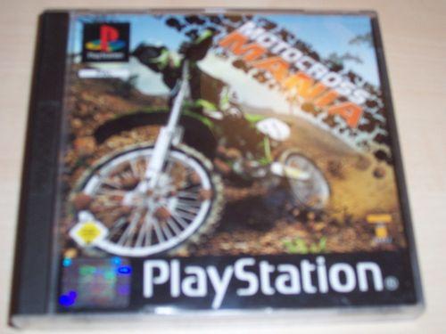 PlayStation 1 PS1 Spiel - Motocross Mania 1  PSone PSX  USK 0  - komplett ohne Anleitung  gebr.