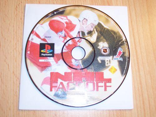 PlayStation 1 PS1 Spiel - NHL Face Off 1996 Eishockey  PSone USK 0  - nur CD  gebr.