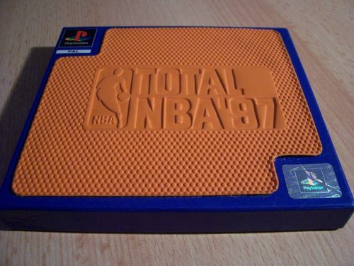 PlayStation 1 PS1 Spiel - Total NBA '97 1997 97 in Box  PSone PSX USK 0  komplett + Anleitung  gebr.