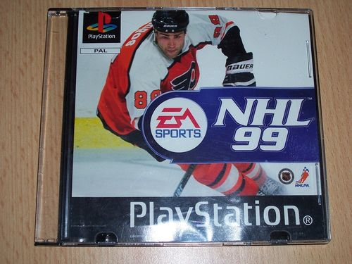 PlayStation 1 PS1 Spiel - NHL 99 1999 '99 Eishockey EA Sports PSone USK 0 - in Slimcase gebr.