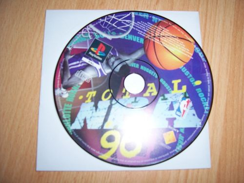PlayStation 1 PS1 Spiel - Total NBA 96 1996 '96 Basketball  PSone USK 0  - nur CD  gebr.