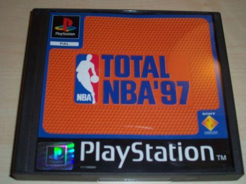 PlayStation 1 PS1 Spiel - Total NBA '97 1997 97 PSone PSX USK 0 - komplett ohne Anleitung  gebr.