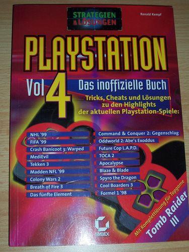 PlayStation 1 PS1 Lösungsbuch Vol. 4 Das inoffizielle Buch Strategien & Lösungen Ronald Kempf  gebr.