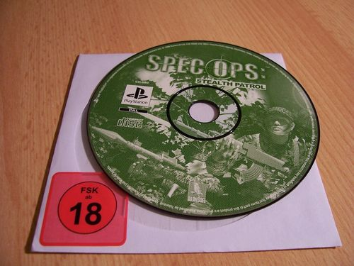 PlayStation 1 PS1 Spiel - Spec Ops Stealth Patrol PSone PSX  USK 18  - nur CD  gebr.