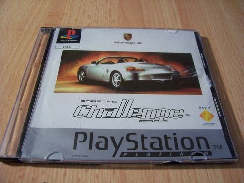 PlayStation 1 PS1 Spiel - Porsche Challenge - Platinum  PSone PSX  USK 0  - in Slimcase gebr.