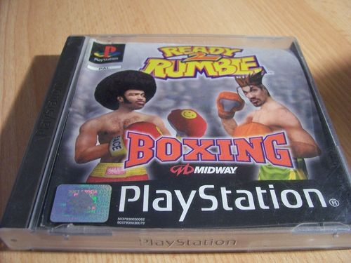 PlayStation 1 PS1 Spiel - Ready 2 Rumble Boxing  PSone PSX USK 12  - komplett mit Anleitung gebr.
