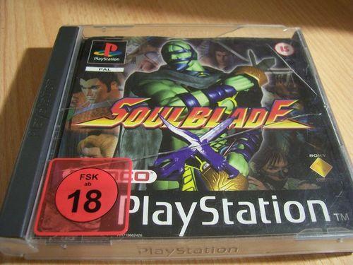 PlayStation 1 PS1 Spiel - Soulblade PSone PSX  USK 18  - Komplett mit Anleitung  gebr.