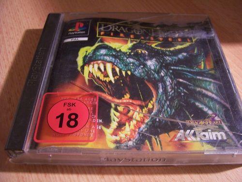 PlayStation 1 PS1 Spiel - Dragonheart: - Fire & Steel PSone PSX USK 18 ohne + Anleitung  gebr.
