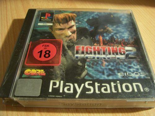 PlayStation 1 PS1 Spiel - Fighting Force 2  PSone PSX  USK 18  - komplett mit Anleitung  gebr.
