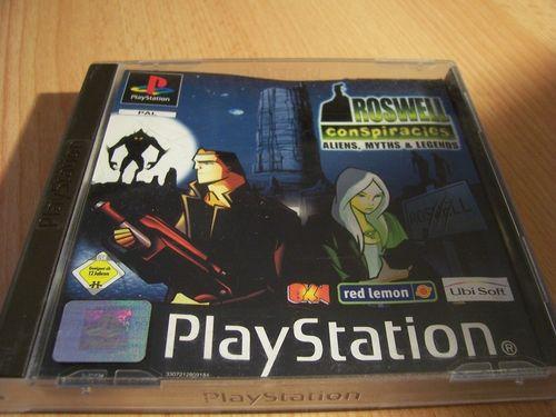 PlayStation 1 PS1 Spiel - Roswell Conspiracies  PSone PSX  USK 12  - komplett mit Anleitung  gebr.