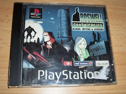PlayStation 1 PS1 Spiel - Roswell Conspiracies  PSone PSX  USK 12  - in Slimcase gebr.