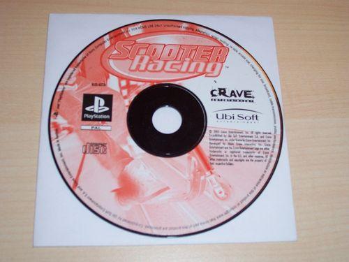 PlayStation 1 PS1 Spiel - Scooter Racing  PSone USK 0  - nur CD  gebr.