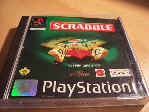 PlayStation 1 PS1 Spiel - Scrabble  PSone PSX  USK 0  - komplett mit Anleitung  gebr.
