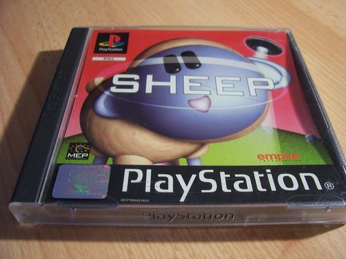 PlayStation 1 PS1 Spiel - Sheep  PSone PSX  USK 0  - komplett mit Anleitung  gebr.
