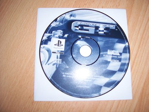 PlayStation 1 PS1 Spiel - Sports Car GT  EA Sports  PSone USK 0  - nur CD  gebr.