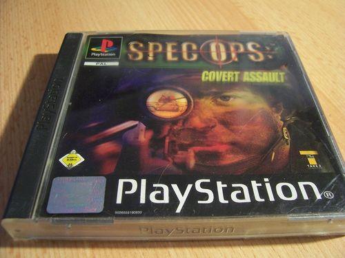 PlayStation 1 PS1 Spiel - Spec Ops - Covert Assault PSone PSX USK 16 - komplett mit Anleitung gebr.
