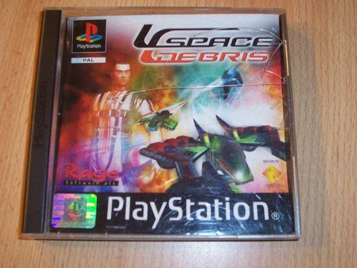 PlayStation 1 PS1 Spiel - Space Debris  PSone PSX  USK 6  - komplett ohne Anleitung  gebr.