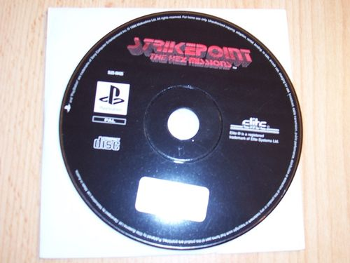 PlayStation 1 PS1 Spiel - Strikepoint - The Hex Missions  PSone USK 12  - nur CD  gebr.