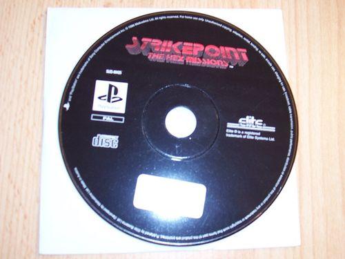 PlayStation 1 PS1 Spiel - Strikepoint - The Hex Missions  PSone USK 12  - nur CD  gebr.