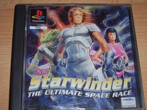 PlayStation 1 PS1 Spiel - Starwinder - Space Race  PSone PSX  USK 6 - komplett ohne Anleitung  gebr.