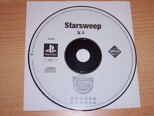 PlayStation 1 PS1 Spiel - Starsweep  PSone USK 0  - nur CD  gebr.
