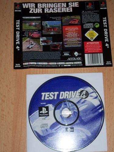 PlayStation 1 PS1 Spiel - Test Drive 4  PSone PSX  USK 0  - nur CD + Rückcover gebr.