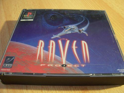 PlayStation 1 PS1 Spiel - The Raven Project  PSone PSX  USK 12  - 2CDs komplett mit Anleitung  gebr.