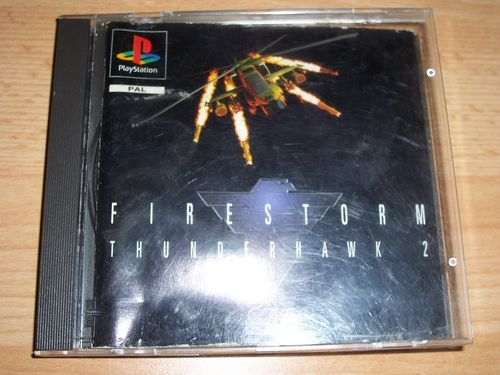 PlayStation 1 PS1 Spiel - Firestorm Thunderhawk 2 PSone PSX  USK 16  - in Slimcase gebr.