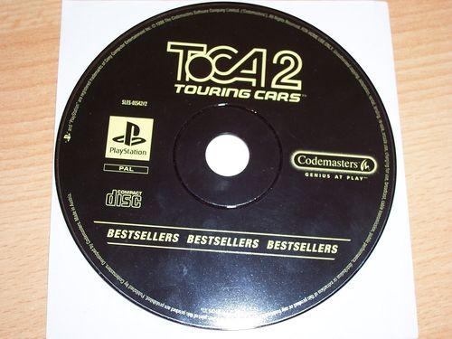PlayStation 1 PS1 Spiel - Toca 2 Touring Cars - Bestsellers  PSone PSX  USK 0  - nur CD  gebr.